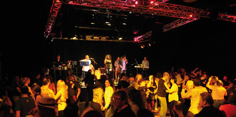 Live-Band mit Tanz