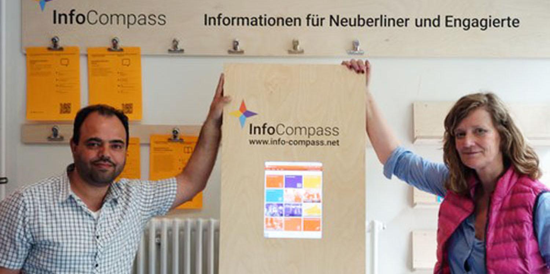 """Logo zu """"InfoCompass"""""""