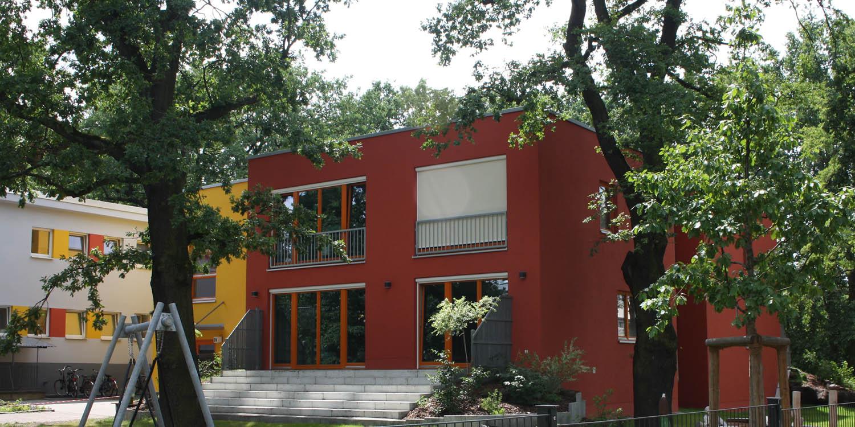 Hausfassade der Kita