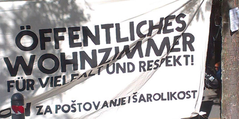 """Plakat von """"Öffentliches Wohnzimmer"""""""