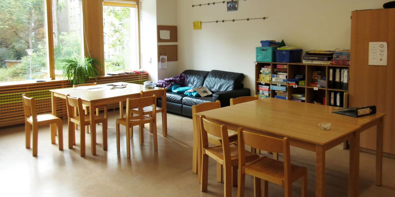 Klassenraum in der Temple-Grandin-Schule