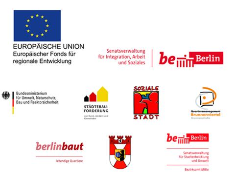 Logoleiste des Olof-Palme-Zentrums