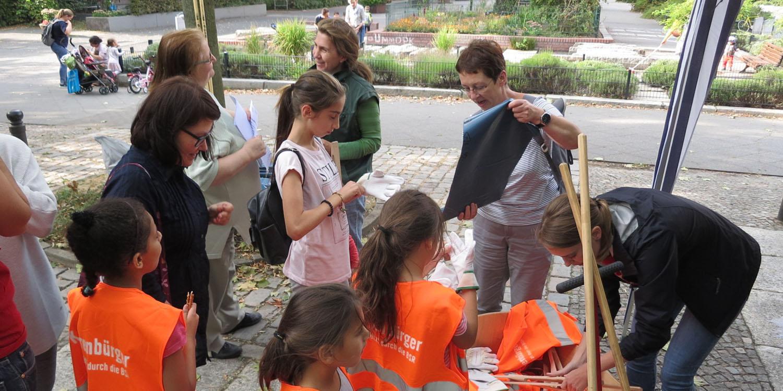 Ehrenamtliches Engagament bei den Berliner Freiwilligentagen in unseren Einrichtungen