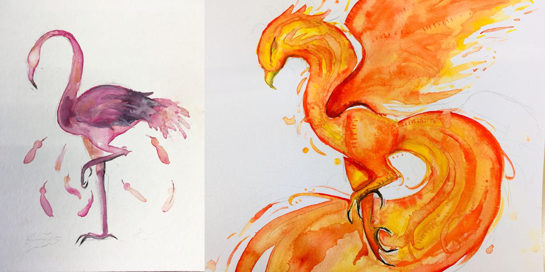 Kunstwerke der Jugendlichen