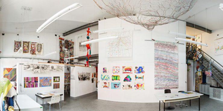 Beispiel der Galerie in der Villa Hamburg aus dem Jahr 2017