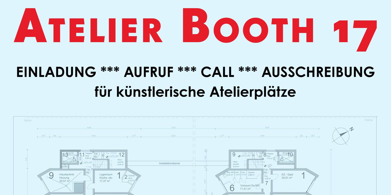 Plakat ATELIER BOOTH 17