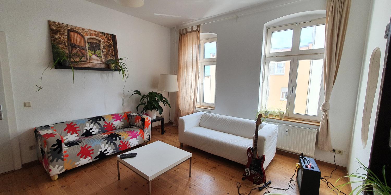 Wohnzimmer im Trainingswohnen Köpenick
