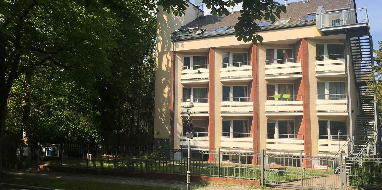 Das vordere Haus in der Boothstraße 17